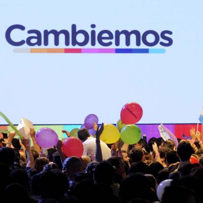 DYN085, BUENOS AIRES 22/11/15, BUNKER DE CAMPAÑA DE CAMBIEMOS.FOTO.DYN/RODOLFO PEZZONI.