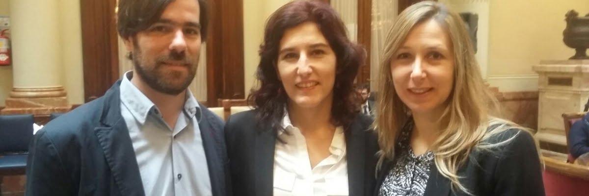 Del Caño, González Seligra, Bregman